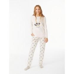 Pijama 3 peças cardado