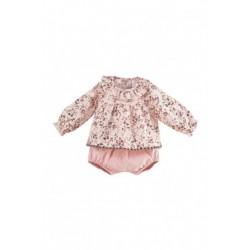 Vestido de bebé estampado
