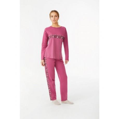 Pijama 2 peças cardado